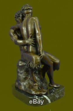 Bronze Autrichien Érotique Demon Satyre Diable Sculpture Vintage Figurine Art