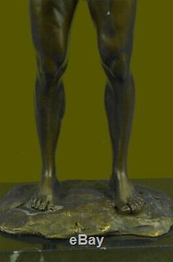 Bronze Sculpture, Main Fabriqué Statue Gay Art Collector Édition Chair Mâle Gift