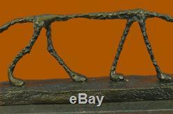Bronze Sculpture Surréalisme GIA Rodin Dali Abstrait Chat Figurine Solde Art