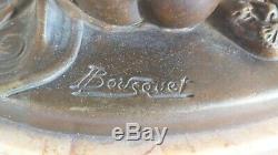 Bronze art déco signé Bousquet