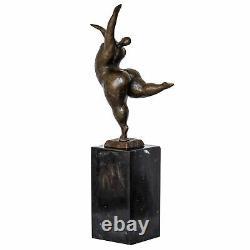 Bronze femme érotisme art sculpture antique figurine 33cm