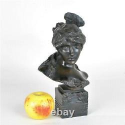 Carmen, sculpture en bronze, art Nouveau, XXème siècle