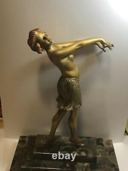 Danseuse Art Deco Bronze