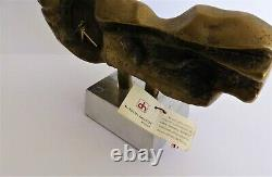 David Marshall-Sculpture-Horloge-Pendule-Art-Design-Bronze-(Dali, Picasso, Miro)