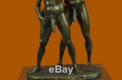 De Collection Bronze Sculpture Statue Gay Art Edition Nu Mâle Homme