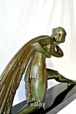 Demétre Chiparus Incroyable Art Déco Sculpture