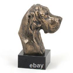 Dogue allemand non coupé, buste de chien, édition limitée, Art Dog FR