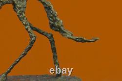 Fin Arts, Mi Siècle Abstrait, Sculpture, Canne, (Chien), Européenne Fait
