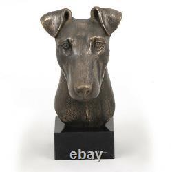 Fox-terrier à poil lisse, buste de chien, édition limitée, Art Dog FR