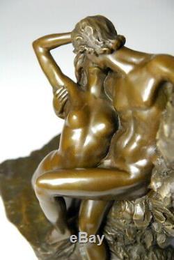 Le baiser- magnifique bronze d'art de A. Rodin Envoi gratuit