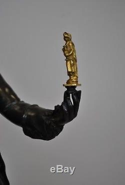 Louis XV En Amateur d'Art, Bronze Fin XIXème