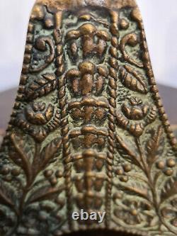 Magnifique Porte pipe de Max le Verrier Art déco en bronze. Signé. (Rare)