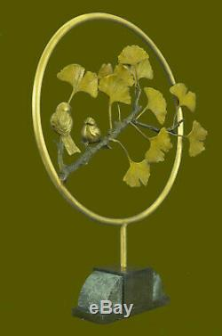 Main Amour Oiseau Commémoration Statue Figurine Bronze Sculpture Numéroté Art