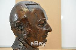 Michel MILBERGER(1922-1997)-Modern Jewish Art- Bronze Cire Perdue-VALSUANI fond