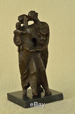 Salvador Dali Contemporain Art Hommage Bronze Statue / Sculpture Marbre Bust