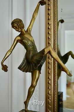 Sculpture bronze Art deco Pierre Laurel (Le Faguays) Marcel Guillemard
