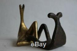 Sculpture bronze Art moderne Couple (44417)