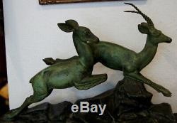 Sculpture en bronze Signée MOLINS époque art déco #22#
