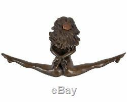 Sculpture érotisme art en bronze style antique statue 22cm