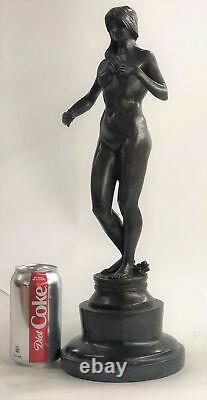 Spéciale Chair Nue Veille Patine Bronze Sculpture Musée Qualité Art Décor Solde