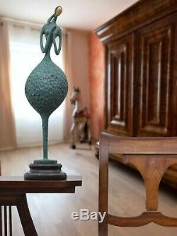 Statue femme érotisme art de bronze sculpture figurine 57cm