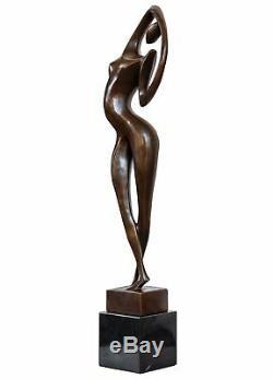 Statue l'érotisme l'art de bronze sculpture figurine 54cm