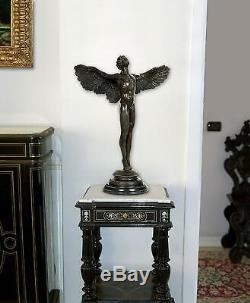 World Art Icare Sculpture En Bronze, Multicolore, 60x57x22,5 Cm